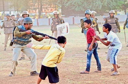 Madhya Pradesh  Children  Human Rights  Bhopal  Kids  Gun  Police  Mandsaur
