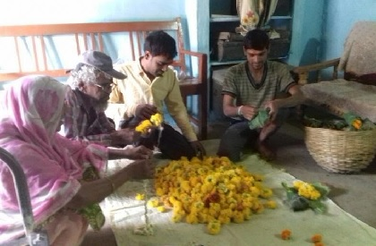 Fragrance of harmony: Flowers grown by Harda Muslim family offered at temples and Hindu homes