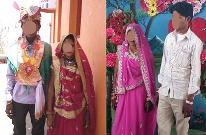 child marriages  underage  NHFS-4  National Family Health Survey  Rajgarh  Madhya Pradesh  UNICEF