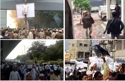 CAB  Citizenship Act  Protests against CAB  Protests against NRC  Jamia Millia Islamia  AMU  Hyderabad  India  Bhopal  Deoband
